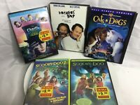Lot Of 5 DVD Movies By Warner Bros Charlie & The Chocolate Factory Scooby Doo