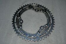 Vintage set of steel chainrings - fits 3 arm Campagnolo, Stronglight... NEW !!!