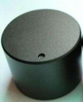 1PCS 30mmDIAx22 H BLACK SOLID Aluminum Hi-Fi CD VOLUME TONE ROTARY CONTROL KNOB