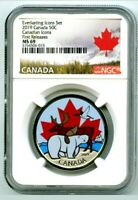 2019 CANADA GLOW IN DARK EVERLASTING ICONS 50 CENT NGC MS69 LARGE HALF DOLLAR