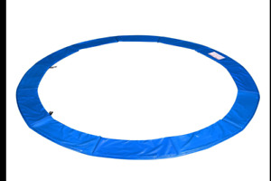12' FT Round Trampoline Safety Pad Replacement Blue Spring Frame Cover L4