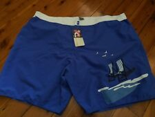 """LADIES BOARD SHORTS """"PACIFIC CLIFF ' SIZE 22 BLUE"""