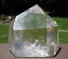 Polished Quartz Crystal w Great Clarity