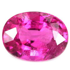 2.25 CT. UNHEATED AAA PINK NATURAL GEMS TOURMALINE 9.8 X 7.4 X 4.9 MM. OVAL