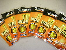 Grabber Warmers Toe Warmers 6+ hours 12 Grabber 6 Pairs USA Exp 0718