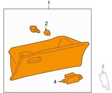For Toyota Genuine Glove Box Front 5555002250B1