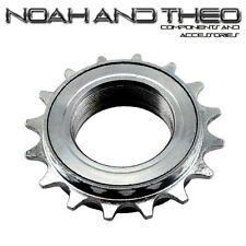 "N&T 16T 34mm 1/2"" x 1/8"" Silver BMX Freewheel Bicycle Single Speed Cog Sprocket"