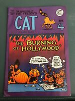 Gilbert Shelton The Adventures of Fat Freddy's Cat Book 4 1988 Rip Off Press VG