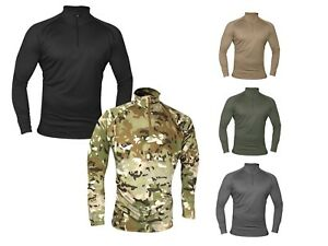 Viper Tactical Military Base Layer Armour Long Sleeve Wicking Top Under Shirt UK