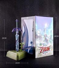 The Legend of Zelda LInk Sword PVC Action Figure Boxed Gift Collect Decor 26CM
