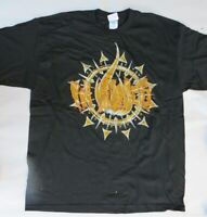 In Flames-Circle Logo- XL-Licensed T-Shirt-Brand New