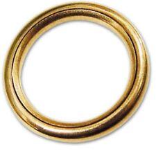 Anelli A Pressione Per Tende.Diametro 20 Mm Set Di 8 Colore Oro Opaco Anelli A Pressione