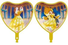 "18"" 45cm heart Beauty and the Beast foil balloon Disney Princess Belle 2-sided"