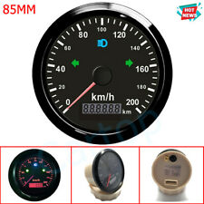 85mm GPS Speedometer 0-200Km/h With Odometer Gauge For Car Truck ATV Motorcycle