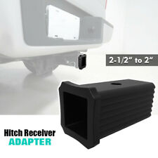 "2-1/2"" to 2"" Trailer Hitch Receiver Adapter Reducer Sleeve Convertor Connector"