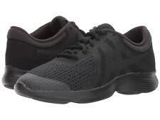 Nike REVOLUTION 4 (GS) Grade School Kids Black/Black 943309-004 Running Shoes