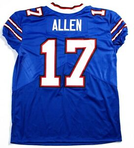 Unsigned Custom Stitched Josh Allen Game Day Cut Jersey (Large) Bills