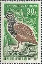 Timbre Oiseaux Cote d'Ivoire 252 ** lot 13783