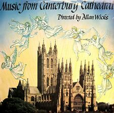 Music From Cantebury Cathedral Allan Wicks [1978] Stereo LP + insert NM/EX