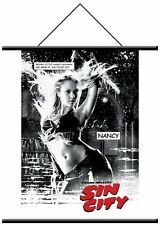 Sin City Nancy Jessica Alba Hanging Fabric Wall Scroll Poster Frank Miller NEW