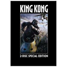 King Kong Special Editon Action dvd Set (2 disc) Naomi Watts Jack Black 2006