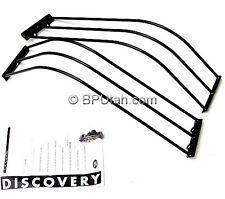 Genuine Land Rover 03~04 Discovery Front Brush Bar Lamp Light Guards NEW OEM
