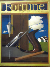 FORTUNE May 1940 Sperry, gyrocompass, WW II Paris, Youth Congress, Standard Oil