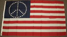 3X5 USA PEACE SIGN STARS FLAG AMERICAN USA BANNER F159