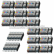100* PK PGI-220 CLI-221 Ink Tank for Canon Printer Pixma MP980 MP990 NEW