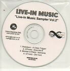 (335D) Live-in Music Sampler Vol 2 - DJ CD