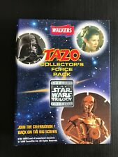 More details for walkers tazo collectors force pack - star wars trilogy (1996) complete ⭐️vgc⭐️