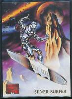 1995 Marvel Masterpieces Trading Card #89 Silver Surfer