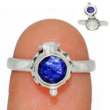 Poison Ring - Sapphire - India 925 Sterling Silver Ring Jewelry s.7 AR175587