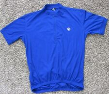 Mens Blue CANARI Cycling Jersey Bib Size XL