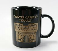 Vintage Sam Houston Camp Strake Winter XV Boy Scouts of America Coffee Mug Cup