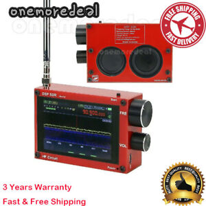 50K-200MHz Malachite DSP Radio Malahit SDR Receiver Rechargeable AM/SSB/NFM/WFM