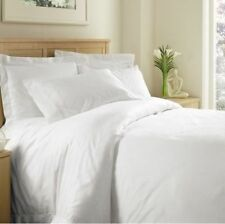 White Solid All Bedding Sets Item Choose Size & Item 1000 TC Pure Egypt Cotton