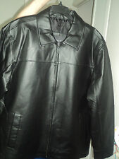 Men's Black Medium Leather Jacket