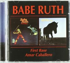 BABE RUTH - FIRST BASE/AMAR CABALLERO  CD NEW