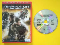 DVD Film Ita Fantascienza TERMINATOR Salvation ex nolo no vhs cd lp mc (T5)