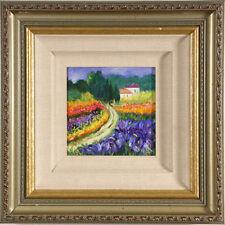 """"""" Wildflower Road """" par HEDDY Kun signée acrylique sur toile"""