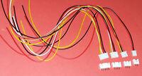 4x JST XH Buchse Stecker 2 3 4 5 Pin pol Kabel Balancer Platine PCB Platine