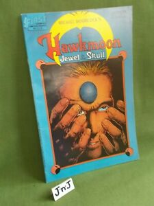 MICHAEL MOORCOCK'S HAWKMOON: JEWEL IN THE SKULL JULY 1986 Vol 1 No 2 SIGNED