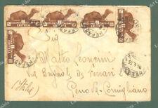 ERITREA. Africa Orientale Italiana. Lettera da Nefasit a Genova del 5.4.1935