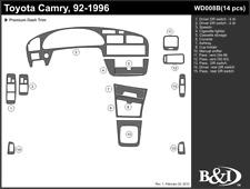 TOYOTA CAMRY 1992 1993 1994 1995 1996 DASH TRIM KIT b