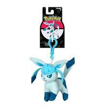 Pokemon Eeveelution Glaceon Clip-On Plush Keychain