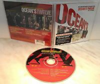 CD OCEAN'S TWELVE - ORIGINAL MOTION PICTURE SOUNDTRACK