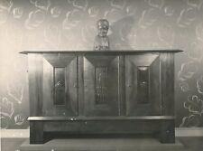 Intérieur Art déco buffet tirage argentique époque Att. G. Martin c. 1930