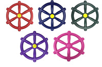 Kids Pirate Wheel Steering Wheels for Climbing frames Play house and Tree Houses