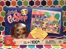 Littlest Pet Shop MB puzzle 100 pc. with exclusive Cocker Spaniel Dog No # New